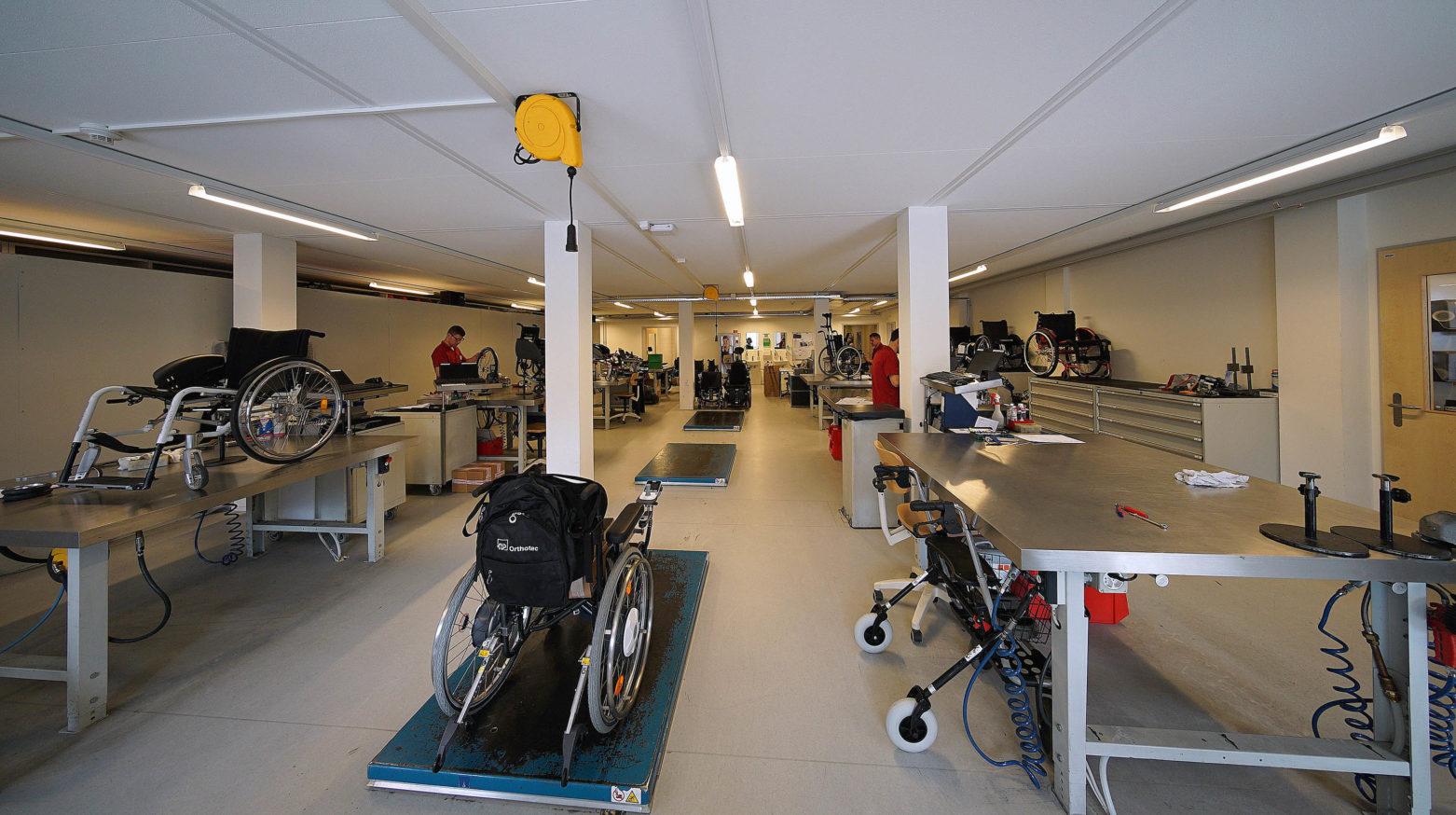 Paraplegiker Zentrum 5